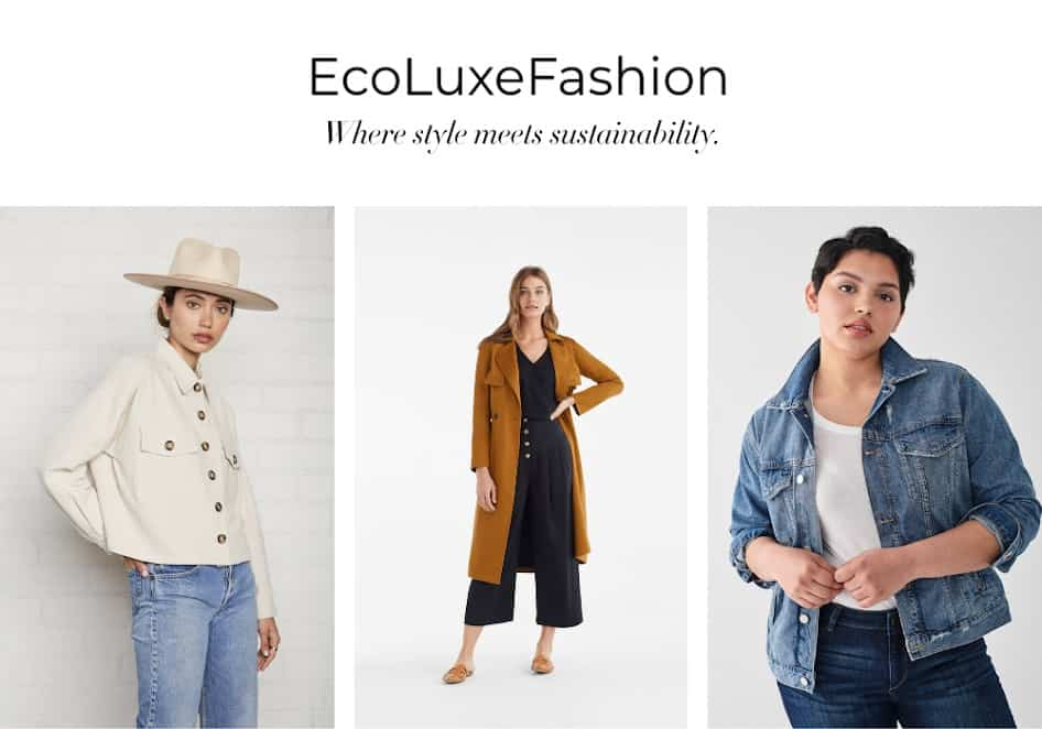 25 Of The Best Sustainable Fashion Stores Online Eluxe Magazine