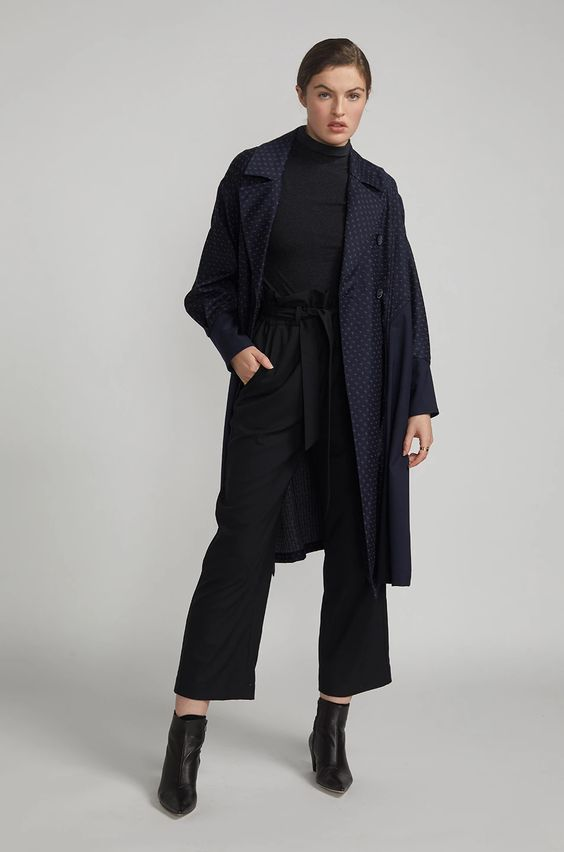 R collective coat