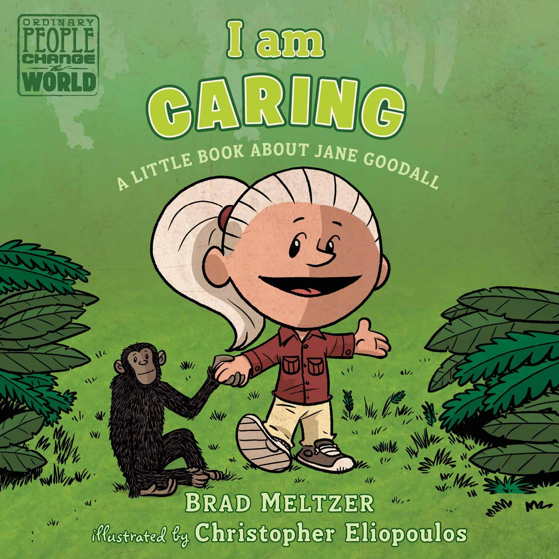books about jane goodall
