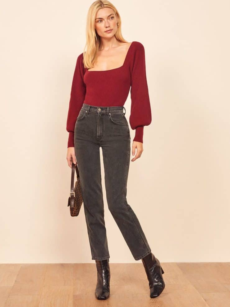 Reformation jeans