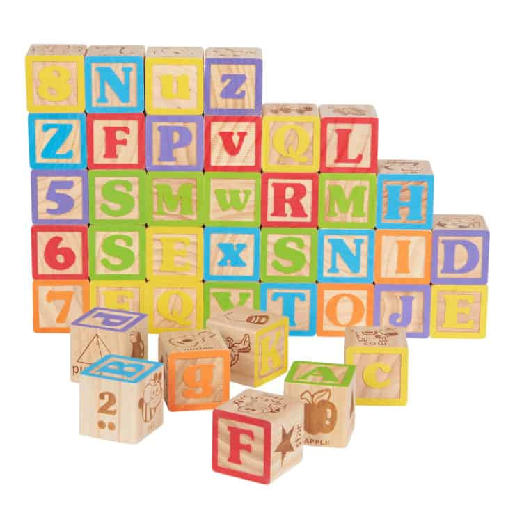 non toxic wooden blocks